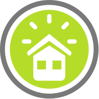 Smart Home Alarm Icon